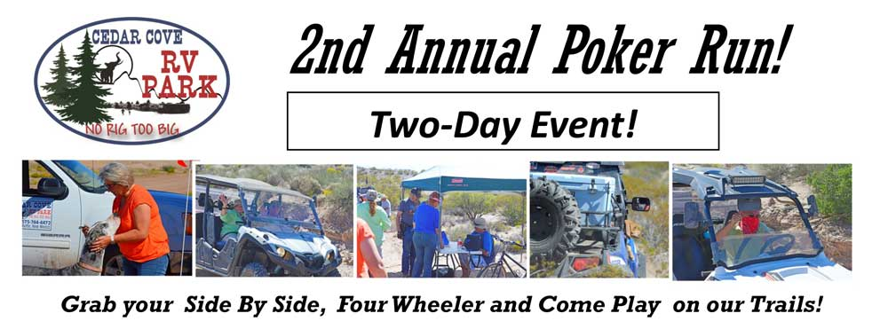 2017 Poker Run - Join Us!