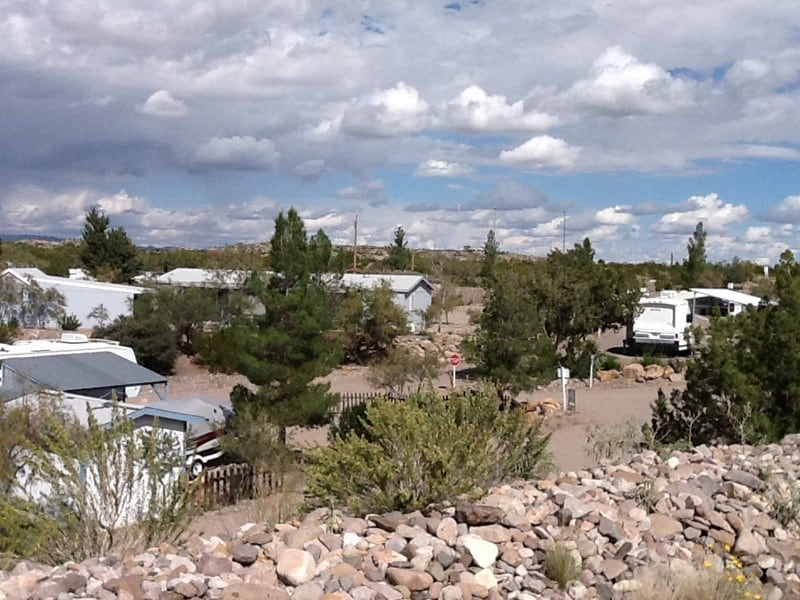 cedar cove rv park campers and berm