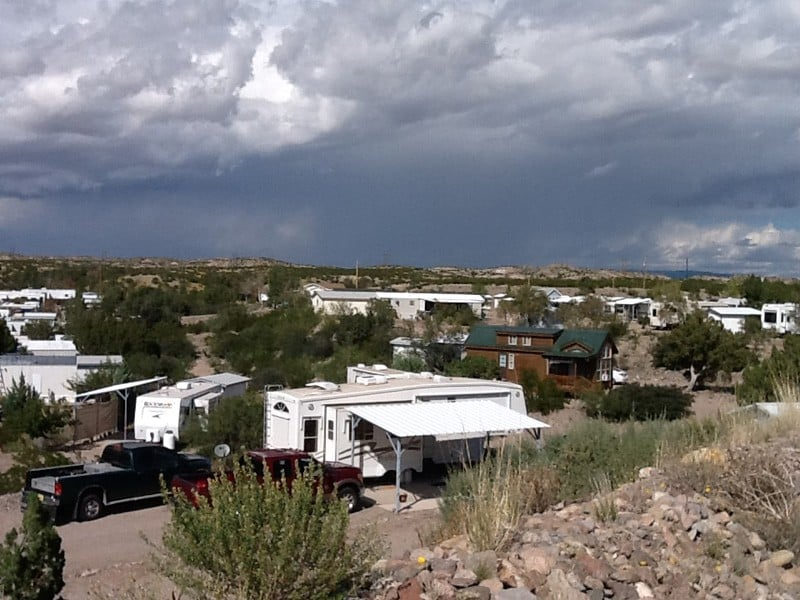 level four at Cedar Cove RV Park, Elephant Butte NM