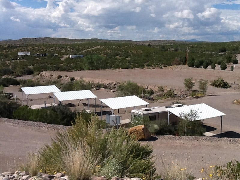 level 5 at Cedar Cove RV Park, Elephant Butte NM