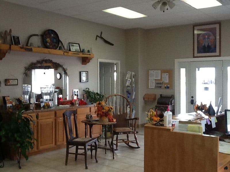 cedar cove rv park community room and front desk