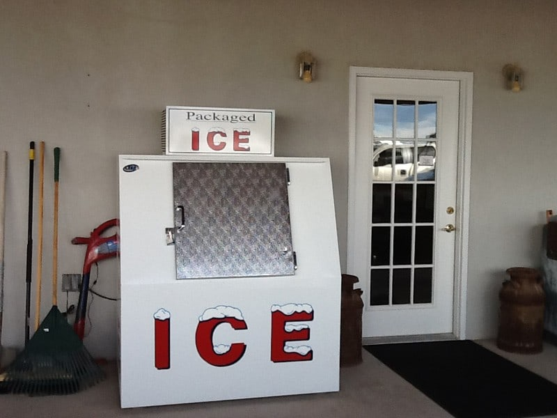 cedar cove rv park ice machine