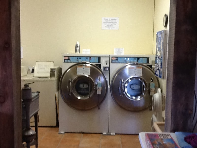 cedar cove rv park laundry facility