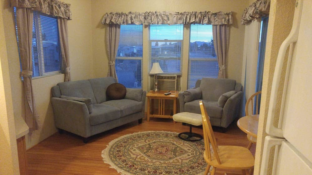 Park models at cedar cove rv park for 1 bedroom rv