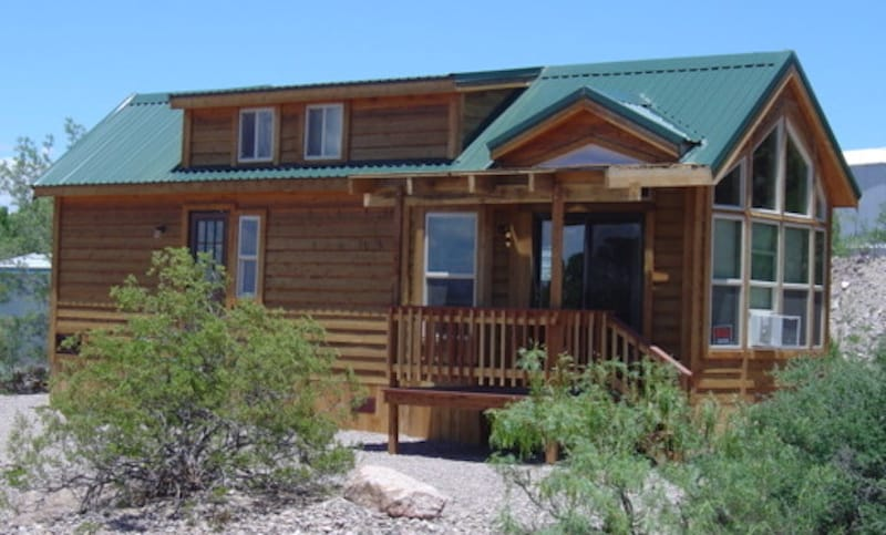 Park models available at Cedar Cove RV Park in Elephant Butte