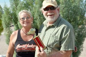 Eileen & Steve at the Cedar Cove RV Park Classic Car Show