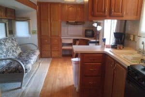 39 foot RV for rent at Cedar Cove RV Park