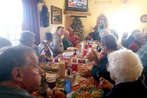 cedar cove christmas dinner 2016 main group