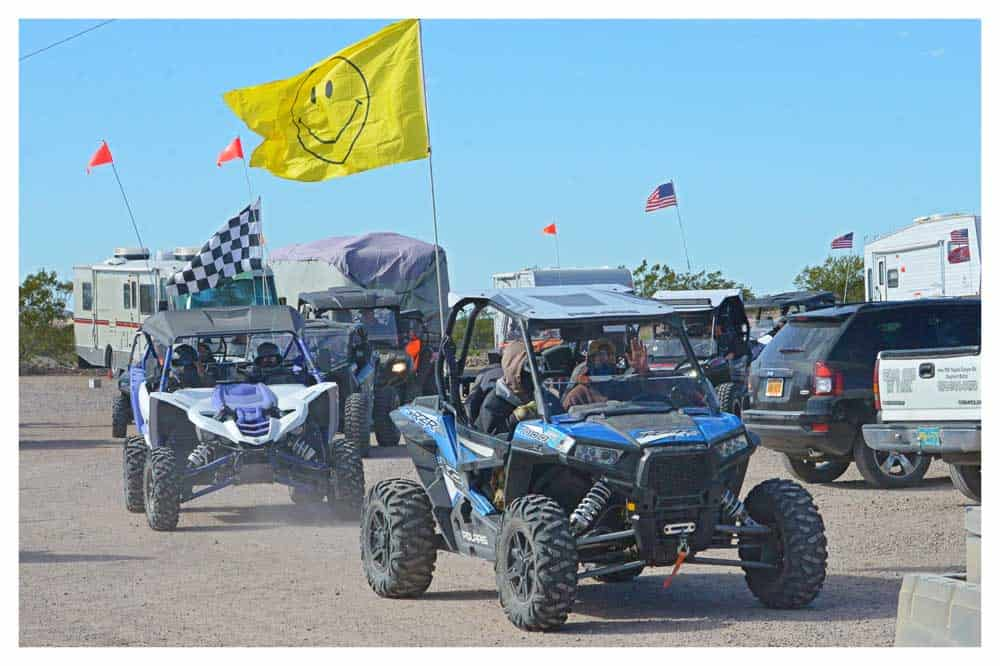 parade of atvs