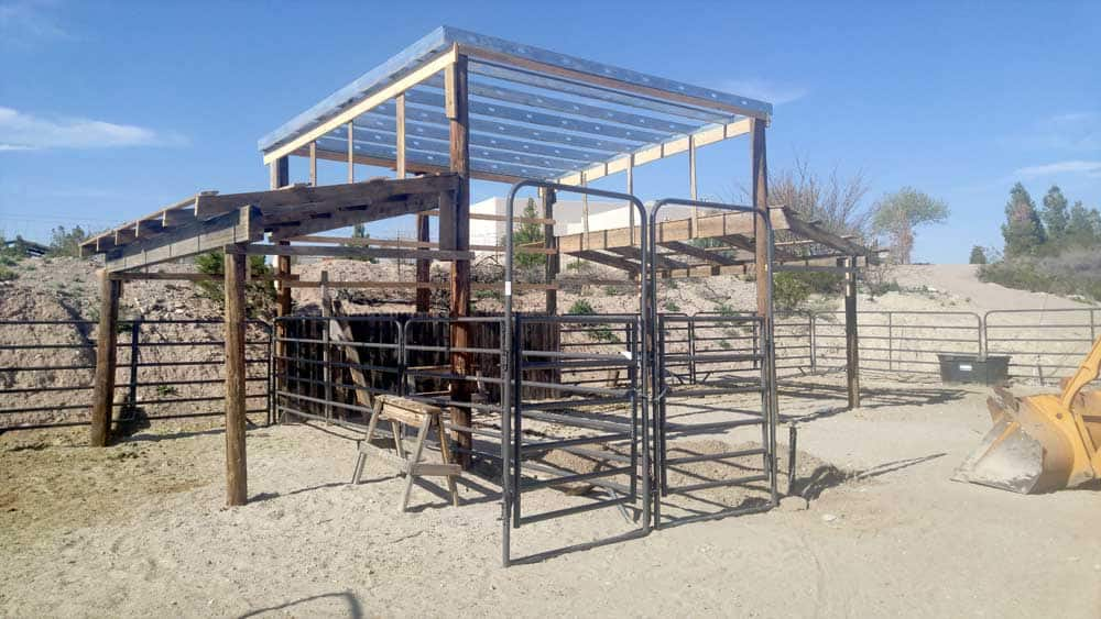 Monticello canyon ranch house rental - corral