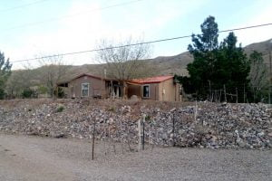 ranch house for rent in Monticello Canyon near Elephant Butte