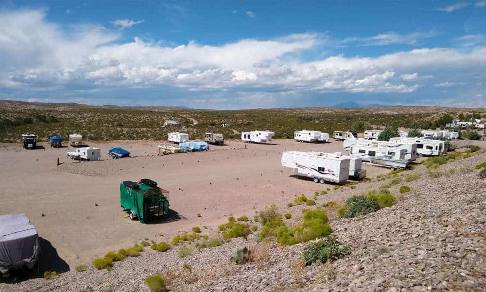 cedar cove rv park outside storage available in elephant butte
